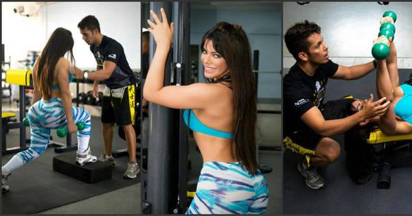 Sósia de Daniella Cicarelli, Suzy Cortez mostra treino que mantém ...