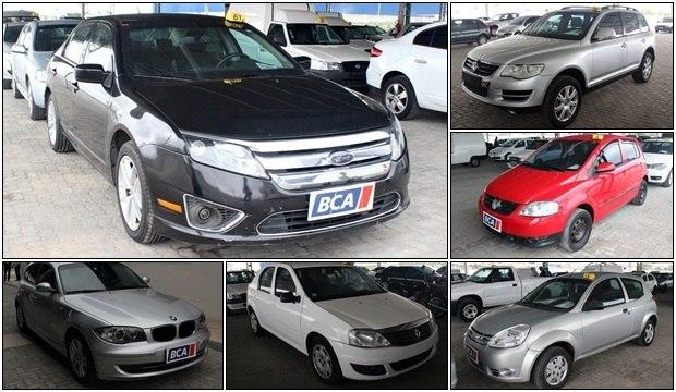 Leilão oferece Ford Ka por R$ 6.000 e jipão de luxo VW Touareg por R$ 55.000