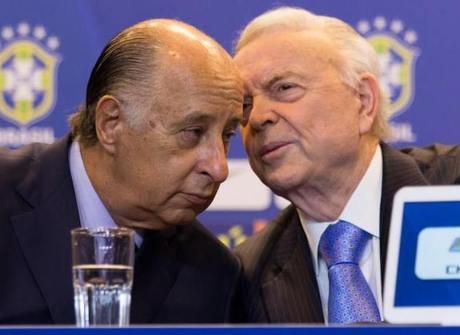 """Del Nero declara guerra a Romário: """"Não é de hoje que ele me ataca"""""""