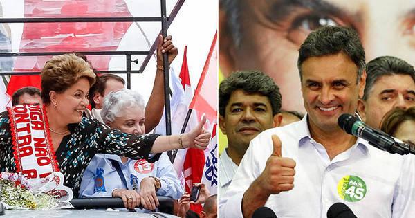 Ibope indica Dilma à frente de Aécio pela primeira vez no 2º turno ...