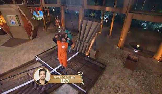 Leo Rodriguez vence a Prova da Chave e ganha o Poder da Arca