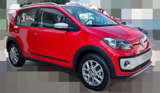 Família aventureira da Volkswagen cresce com Cross up!