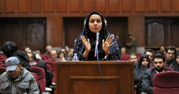 Enforcada no Irã mulher condenada à morte por matar homem que ...