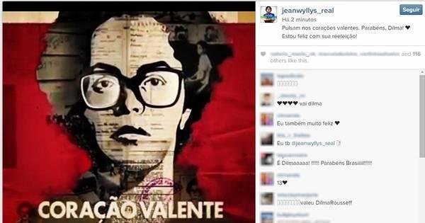 Famosos repercutem reeleição de Dilma Rousseff nas redes sociais ...