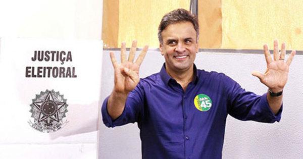 Três dias após derrota, Aécio critica PT e pede união de opositores ...