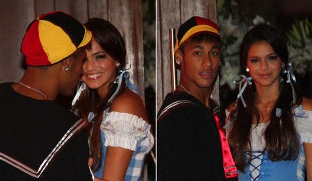 De Kiko a Elvis, Neymar prova que se fantasiar é com ele mesmo