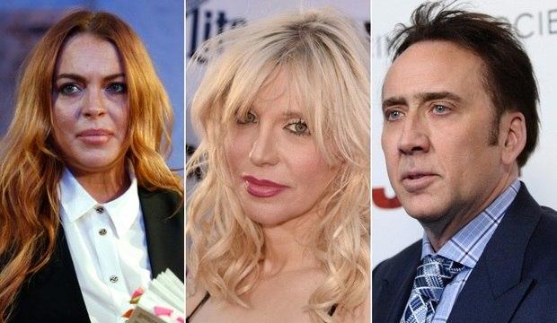 Nicolas Cage e Courtney Love puxam a lista de artistas que deram o calote