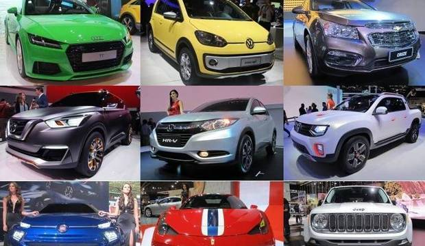 SUVs compactos dominam evento. Confira as principais novidades do motor show