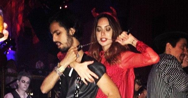 Thaila Ayala vira diabinha sexy em festa à fantasia em Nova York ...