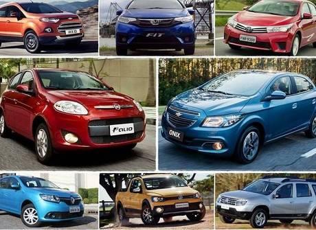 Veja quais foram os 50 carros mais vendidos no Brasil no 1º semestre
