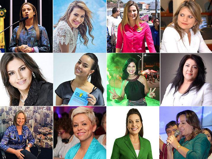 A nova bancada feminina da Câmara dos Deputados subiu de 45 para 51 representantes nas Eleições 2014. Agora, elas são quase 10% dos 513 deputados federais do Brasil e, a partir de 1º de janeiro de 2015, vão embelezar a Casa. Veja nas próximas fotos uma seleção de belas parlamentares que o R7 elaborou