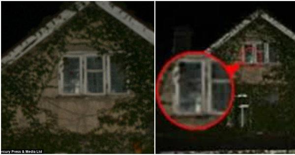Sinistro! Vulto de babá aparece na janela de casa onde criança ...