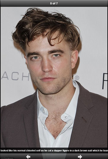 Robert Pattinson faz muito sucesso entre as adolescentes. Mas será que elas gostariam de encarar o ator sabendo que ele não liga se o cabelo ou seu apartamento estão limpos? Porque uma coisa é você não cuidar da casa, outra é não cuidar de você. Mas ser desleixado com os dois é um pouco demais.—Eu não ligo se meu cabelo ou se meu apartamento estão limpos. Se eu não ligo, por que vou limpar? Eu tenho meu cabelo só para, vocês sabem, balançar por aí na minha cabeça. Eu não me importo se está limpo ou não
