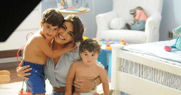 Fofos! Filhos de Juliana Paes protagonizam comercial de TV ao ...