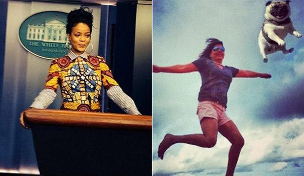 De propósito ou sem querer: veja as fotos mais engraçadas dos famosos nas redes sociais