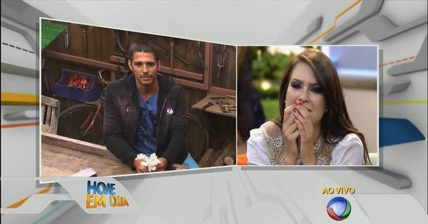 "Marlos Cruz envia recado para Débora Lyra e emociona a Miss: ""A ..."