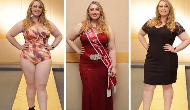 Assistente de marketing é eleita Miss Plus Size Mulheres Reais