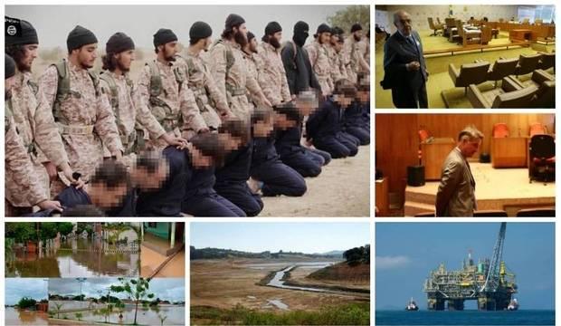 A semana: Estado Islâmico decapita 19 e premonição de acidente aéreo assusta
