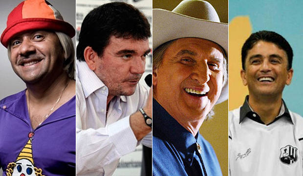 Famosos que venceram as eleições em 2014 gastaram até R$ 2 milhões