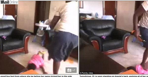 Babá é detida em Uganda após agredir brutalmente uma menina de ...