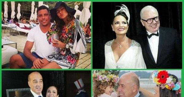 Amor ou interesse? Veja as famosas que já fisgaram ricaços - Fotos ...
