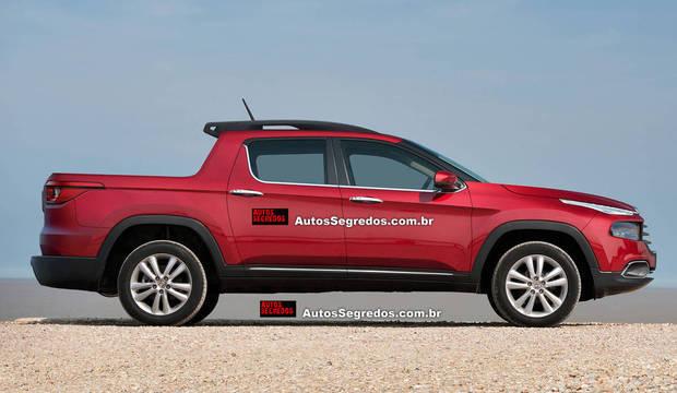 Retrato falado: descubra como será o visual da mais nova picape média da Fiat