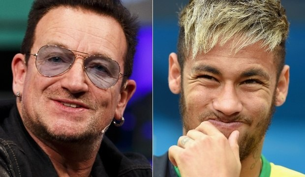 """Revista elege Bono e seleção brasileira entre os mais """"inúteis"""" de 2014"""