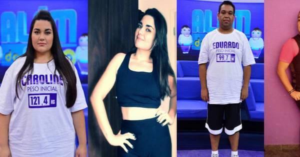 Eles perderam mais de 470 kg! Veja como estão os participantes ...