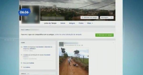 GO: suspeito de matar jovem publica foto da execução em rede social - R7