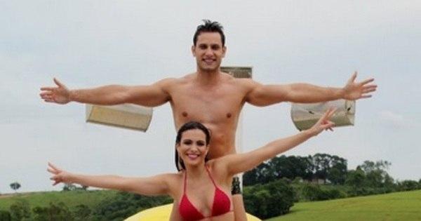 Ex-BBBs Eliéser e Kamilla Salgado têm final de semana romântico ...