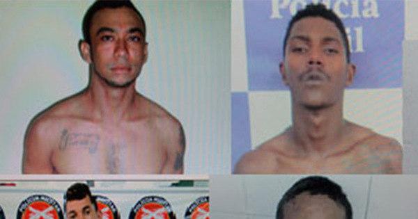 Polícia divulga nome de bandidos que fugiram de cela pelo teto em ...