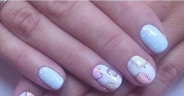 Inove na manicure! Veja 60 opções de nail art que vão muito além ...