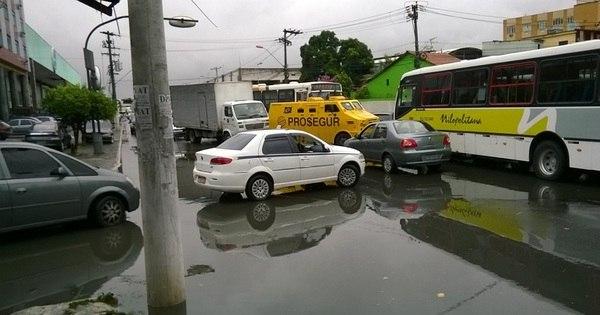 Chuva provoca transtornos em Niterói e na Baixada Fluminense (RJ ...