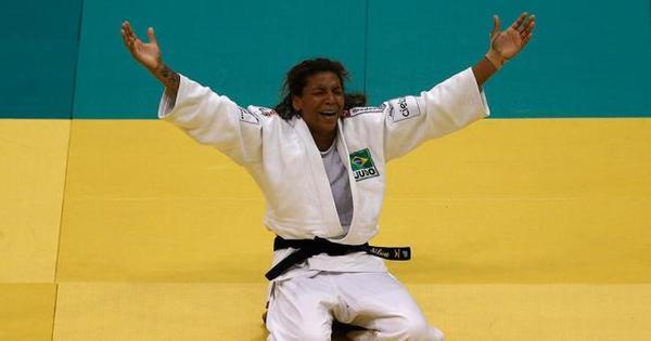 Judoca Rafaela Silva conquista a medalha de bronze no Pan de ...