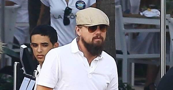 Cadê o nosso Jack? Leonardo DiCaprio surge barbudão - Fotos ...