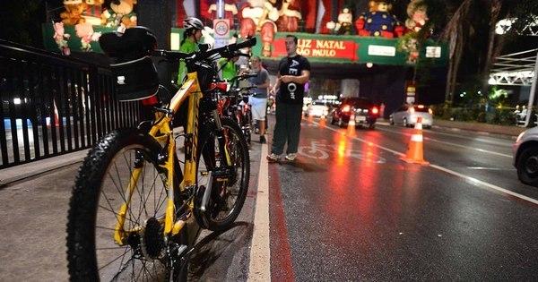Avenida Paulista terá ciclofaixa noturna neste sábado - Notícias ...