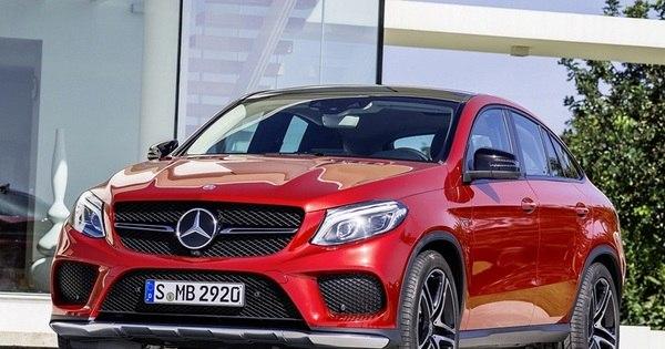 Mercedes-Benz mostra o GLE Coupé, mistura de utilitário e cupê ...