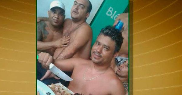 Presos fazem churrasco na cadeia e ostentam fotos nas redes sociais