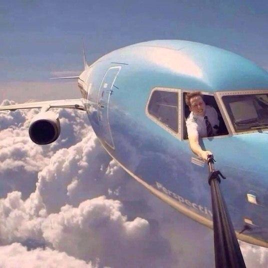Talvez esse não seja o o local mais adequado para fazer uma selfie com suporte