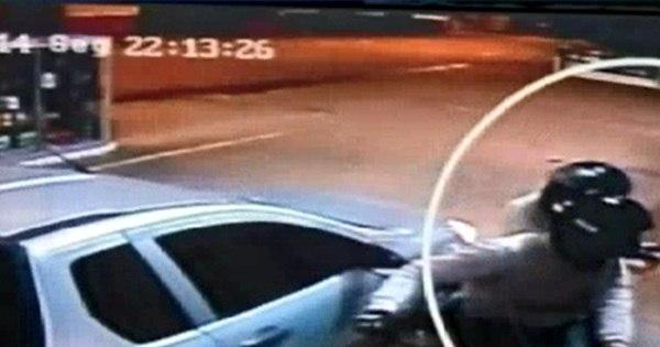 Funcionário de posto de combustíveis é ameaçado por bandidos ... - R7