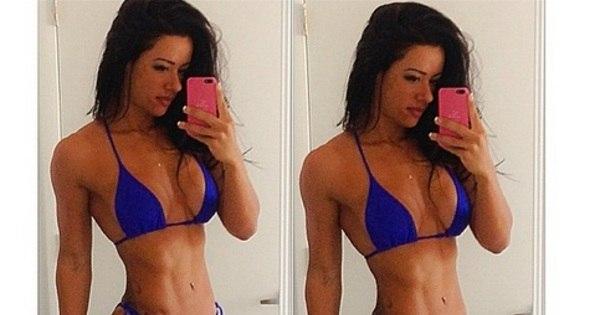 Brasileira dona do corpo mais bonito dos EUA e as mulheres da ...