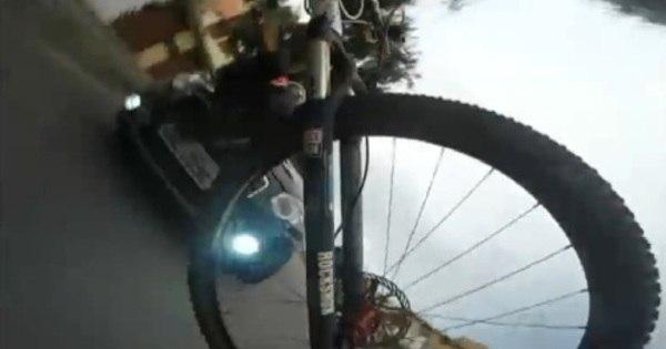 Ciclista filma o próprio atropelamento em BH e cobra prejuízo de R ...