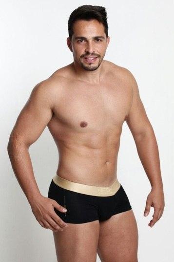 Diego Freitas é educador físico e candidato por Águas Claras. O representante da cidade tem 1,69m e 28 anos