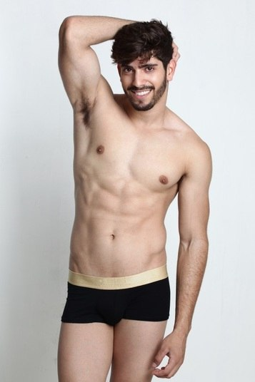 Ramon Borges foi o escolhido para defender a Asa Norte. O jovem, de 20 anos, é modelo e estudante