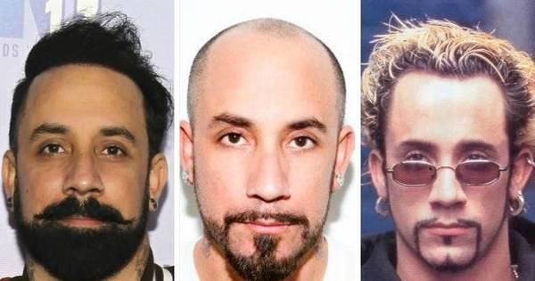 Ex- careca, AJ do Backstreet Boys completa 36 anos com cabelo ...
