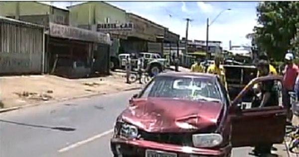 Carro dirigido por adolescente atropela e mata mulher em Ceilândia ...