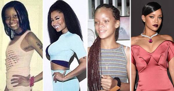 Nicki Minaj sem bumbum, Taylor Swift gordinha: veja como eram as ...