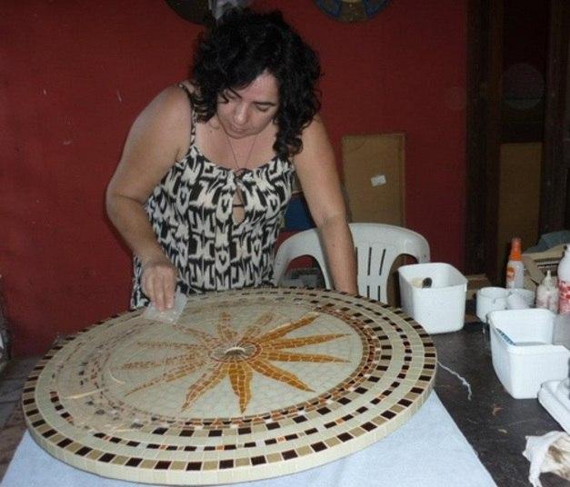 Mariza Moreira é a integrante mais velha da casa. Ela tem 51 anos, é professora de artes e mora em Recife