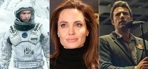 Angelina Jolie, Interestelar, Garota Exemplar estão na lista