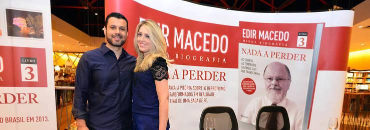 Última parte da biografia de Edir Macedo é lançada em São Paulo